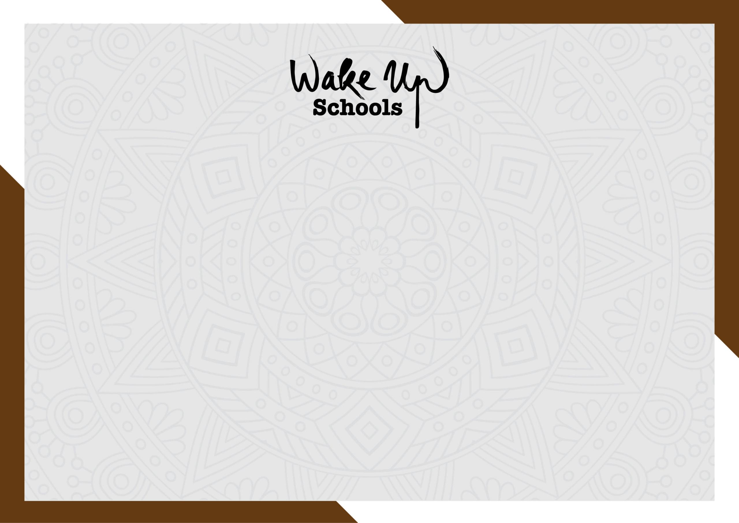 Attestato di partecipazione – Wake Up Schools